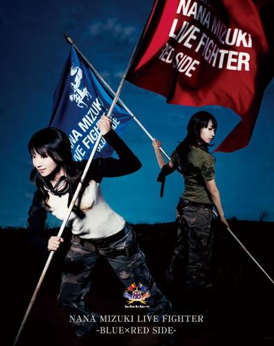 NANA MIZUKI LIVE FIGHTER BLUE×RED SIDE 水樹奈々 KING RECORDS ...